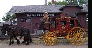 Cowtown stagecoach, Wichita, Kansas